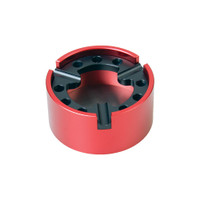 Heavy Duty Metal Ashtray | Black Red | Wholesale Distributor